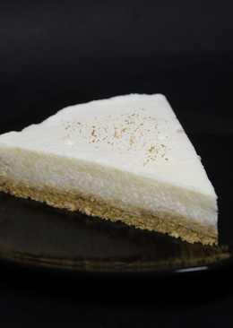 Tarta de arroz con leche (postre frío)
