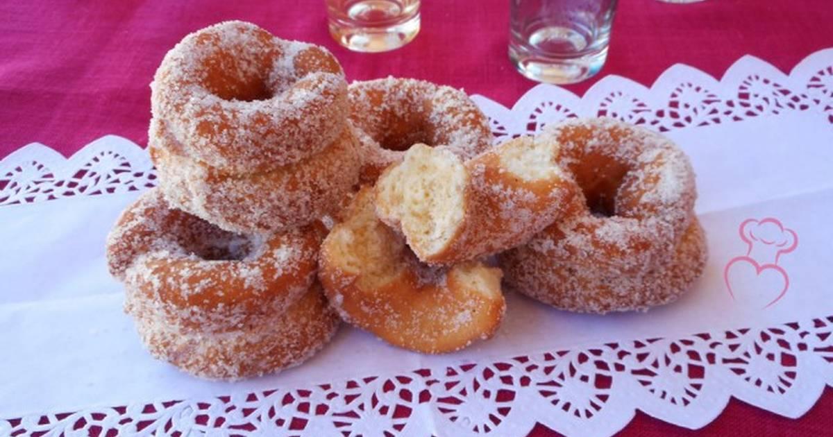 Rosquillas fritas de anís Receta de Susana