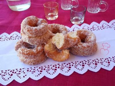Rosquillas fritas de anís