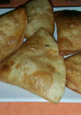 Triángulos de tortitas de maíz