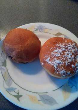 Donuts relleno con nocilla