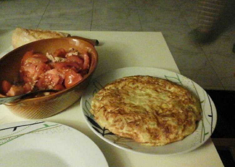 Tortilla de patatas hecha en el microondas receta de - Tortilla en el microondas ...