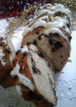 Stollen o pan dulce alemán