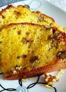 Bizcocho de queso crema y nueces