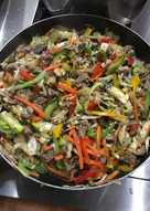 Recetas con zucchini wok