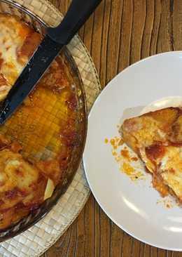 Papa pizza doble de atún