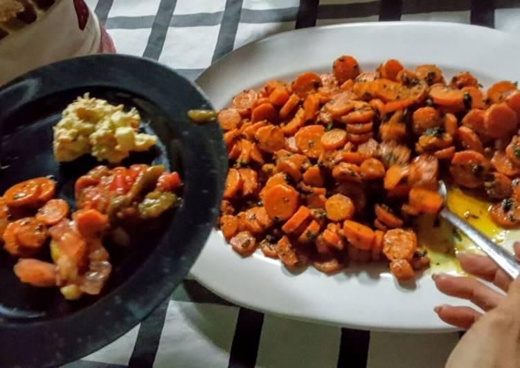 Zanahorias a la Oriental
