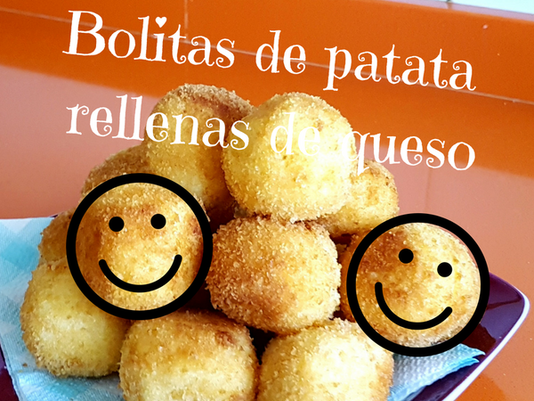 Receta bolitas de patata con queso para los peques o apetitivos