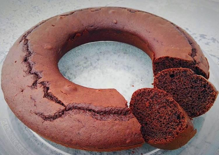 Bizcocho de HELADO de chocolate