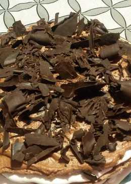 Merengue y rulos de chocolate