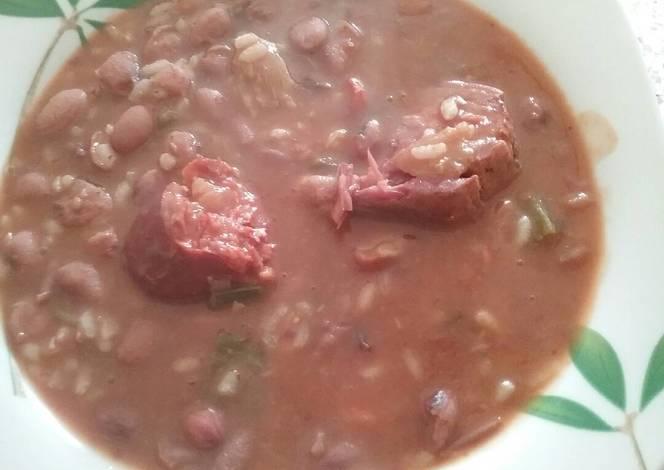 Jud as pintas con arroz receta de samantha cookpad - Judias pintas con arroz ...