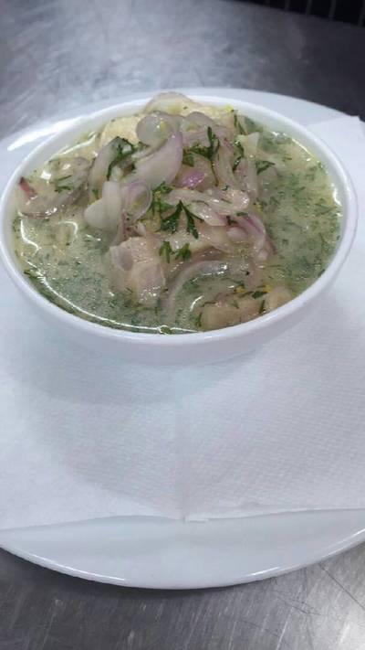 Ceviche de pescado ecuatoriano (Mary)