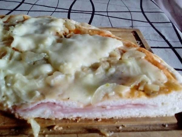 Pizza 2 en 1 (rellena)