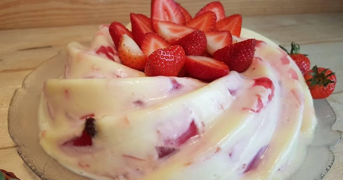 Postre con fruta fresca 429 recetas caseras cookpad - Postres con gelatina y leche condensada ...