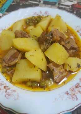 Patatas olla express 807 recetas caseras cookpad - Guiso de judias pintas ...