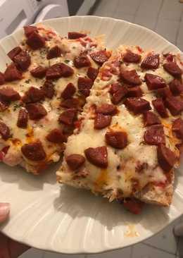 Pizza de pan (Panini) Facilísima