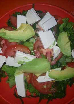 Ensalada de verduras a la analetxy