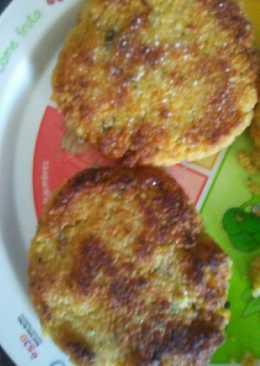 Hamburguesa de couscous y verdura