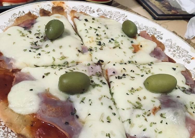 Receta de pizza gluten free
