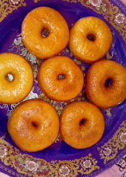 Donuts con glaseado de canela