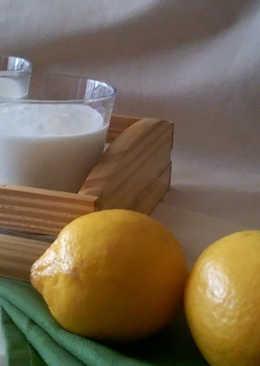 Mousse de yogur y limón