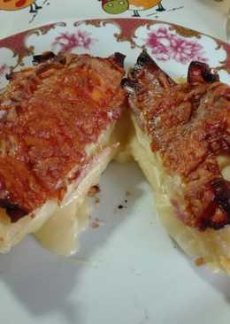 Queso camembert con hojaldre