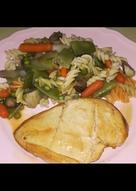 Pechuga de pollo a la plancha con, mi receta de pasta