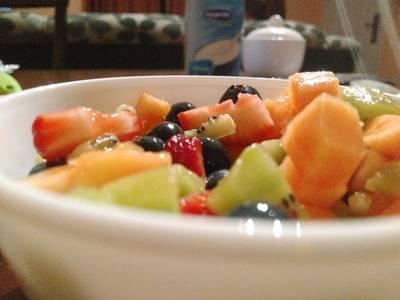 Ensalada de frutas, distinta