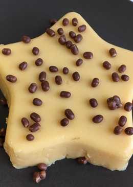 Flan de queso y calabaza fit