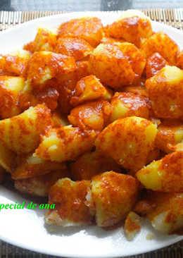 Patatas con pimentón de la vera