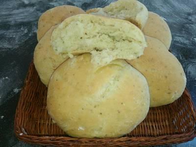 Pan de cebolla/ Orégano