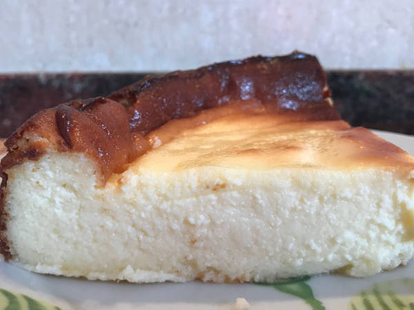 Tarta de queso crema la viña