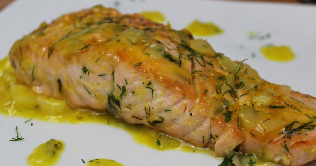 Salmón a la Naranja | Receta Fácil y Original Receta de La Cocina Del Pirata