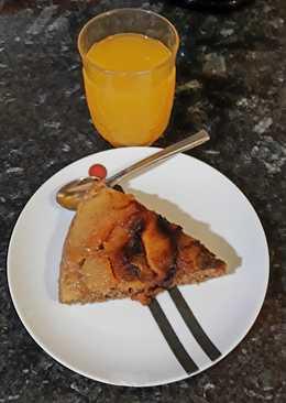 Torta de manzana en sartén