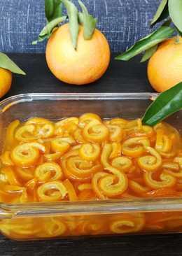 Confitura de caracoles de piel de naranja