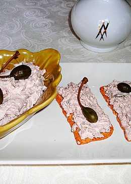Tapas - Paté de nueces con queso crema
