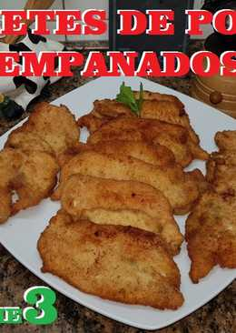 Filetes pollo empanados