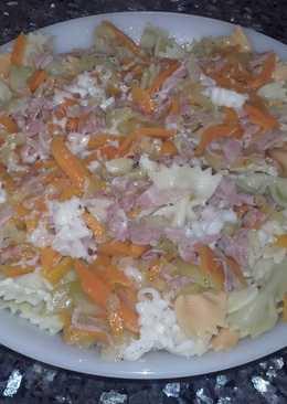 Ensalada de pasta con hortalizas