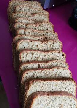 Pan de espelta íntegral con remolacha, panificadora