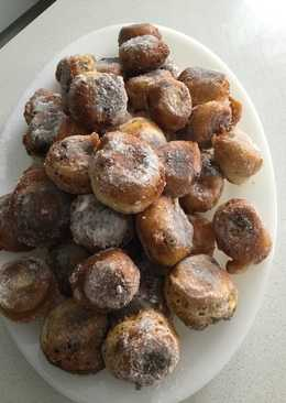 Buñuelos dulces de aprovechamiento