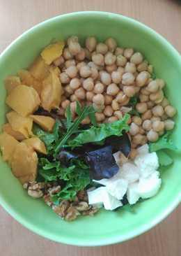 Ensalada de garbanzos y mango