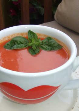 Sopa fría de hortalizas y frutas sin pan