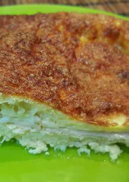 Pastel frío de jamón y queso
