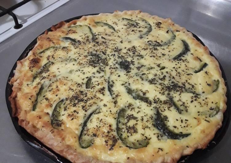 receta tarta de zapallitos y ricota