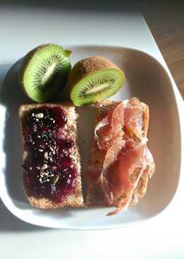 Desayuno/merienda en 5 minutos y muy completo