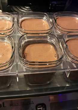 Yogures caseros de chocolate