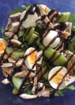 Ensalada templada de kiwi
