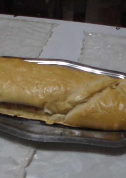 Pan de jamón tradición de Venezuela