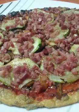 Pizza con masa de tofu, ideal dieta