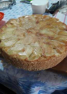 Torta de manzana invertida🍏